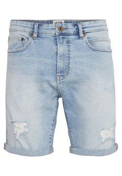 Solid - REGULAR RYDER - Jeans Shorts - blue dnm