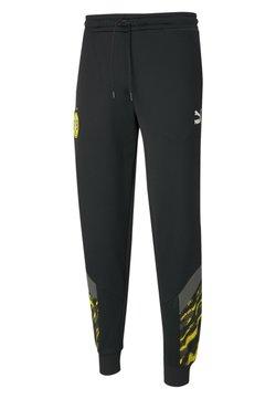 Puma - Pantalones deportivos -  black cyber yellow