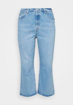 Levi's® Plus - PL RIBCAGE STRAIGHT ANK - Jeans straight leg - tango gossip plus