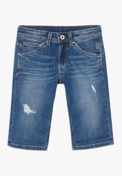 Pepe Jeans - CASHED - Jeansshort - blue