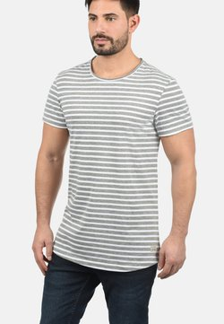 Blend - GENESIS - T-Shirt print - light grey