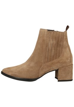 Paul Green - STIEFELETTE - Ankle Boot - grau-braun 017