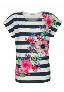 Alba Moda - T-Shirt print - weiss-bunt