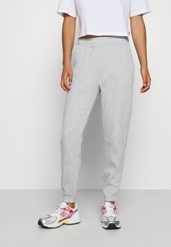 Even&Odd - BASIC REGULAR FIT JOGGERS - Jogginghose - mottled light grey