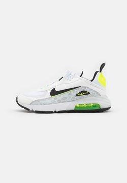 Nike Sportswear - AIR MAX 2090 - Sneakers laag - white/black/pure platinum/volt