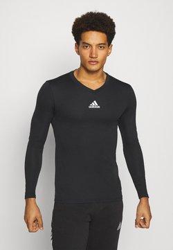 adidas Performance - TEAM BASE TEE - Långärmad tröja - black
