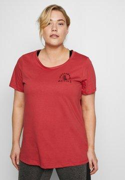 Active by Zizzi - AMARIGOLD - T-Shirt print - garnet rose