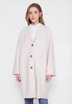 Marc O'Polo - SINGLE BREASTED - Klasyczny płaszcz - natural white