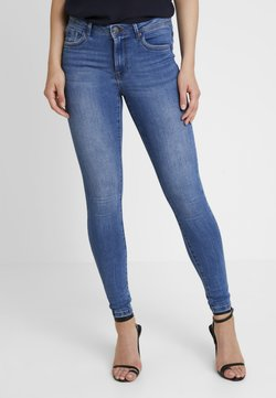 Vero Moda - VMTANYA PIPING - Jeans Skinny Fit - medium blue denim