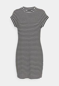Even&Odd - Jerseykleid - black/white