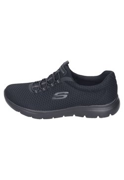 Skechers Sport - Matalavartiset tennarit - black