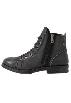 Replay - LEICESTER - Lace-up ankle boots - stone