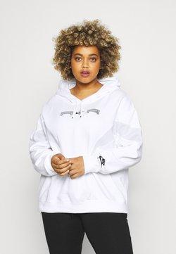 Nike Sportswear - AIR HOODIE PLUS - Sweatshirt - white