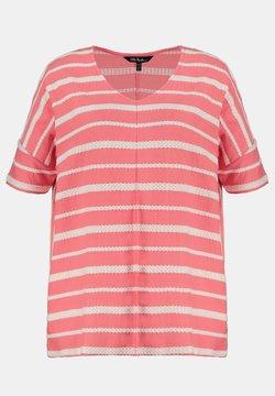 Ulla Popken - T-Shirt print - vieux rose pâle