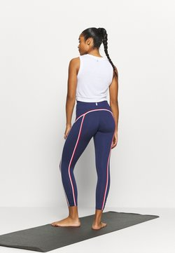 Free People - YOURE A PEACH DOUBLE POP - Tights - deepest navy