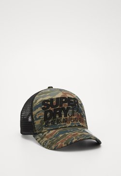 Superdry - LINEMAN TRUCKER - Lippalakki - green