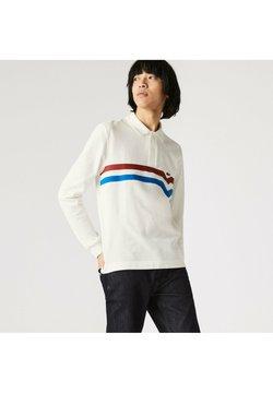 Lacoste - Poloshirt - blanc/rouge/bleu
