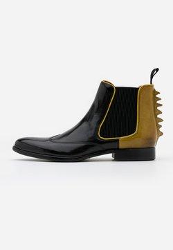 Melvin & Hamilton - KEIRA - Boots à talons - black/fluo yellow