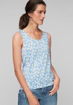s.Oliver - Top - light blue floral aop