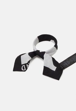 Marimekko - KIOSKI ETEVÄ LOKKI SCARF - Huivi - black/white
