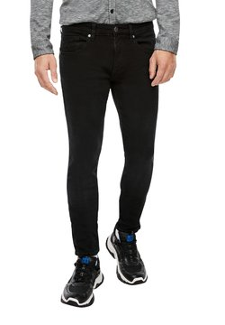 Q/S designed by - MIT HYPERSTRETCH - Jeans Skinny Fit - black