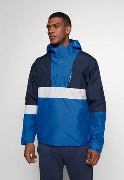 Jack Wolfskin - BOOSTER JACKET  - Hardshell jacket - azure blue