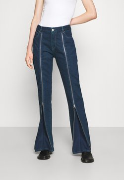MM6 Maison Margiela - PANTS 5 POCKETS - Relaxed fit -farkut - muted wash sovratinto