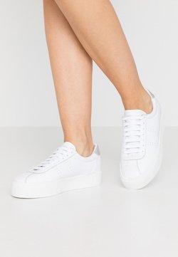Superga - 2854 CLUB 3  - Sneaker low - white/grey/silver