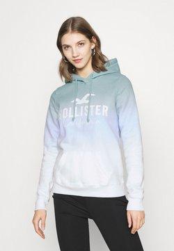 Hollister Co. - CHAIN TECH CORE - Kapuzenpullover - blue wash