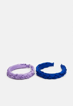 ONLY - ONLALBA BRAIDED HAIRBAND 2 PACK - Accessori capelli - orchid bloom/night sky