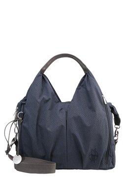 Lässig - NECKLINE BAG SPIN DYE - Borsa fasciatoio - blue mélange