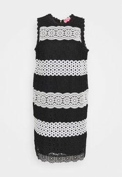 kate spade new york - FLORAL DOT SHIFT DRESS - Vestido informal - black