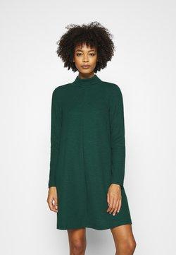 GAP - MOCK NECK DRESS OTTOMAN - Vestido de punto - pine green