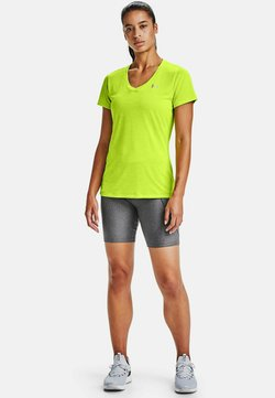 Under Armour - TECH TWIST - Funktionsshirt - green citrine