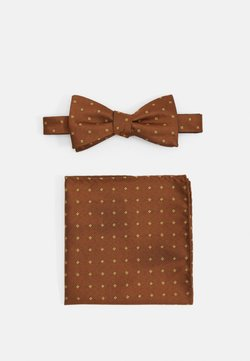 Selected Homme - SLHLANDON BOWTIE HANKIE BOX SET - Einstecktuch - rust