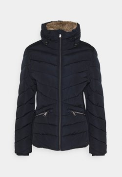 TOM TAILOR - WINTERLY PUFFER JACKET - Winterjacke - sky captain blue