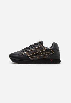 Guess - GENOVA - Sneaker low - brown/ocra