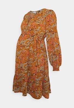 MAMALICIOUS - MLJADINE TESS SHORT DRESS - Blusenkleid - meerkat