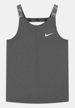 Nike Performance - ELASTIKA - T-shirt de sport - black heather