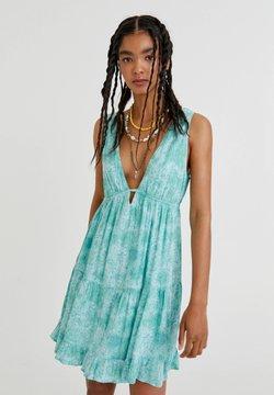 PULL&BEAR - Sukienka letnia - blue