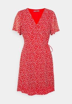 Anna Field Petite - Kjole - red/white