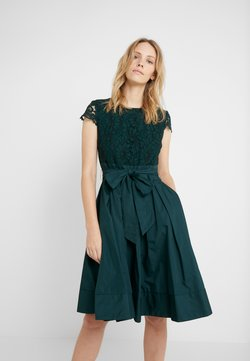 Lauren Ralph Lauren - MEMORY TAFFETA COCKTAIL DRESS - Cocktailkleid/festliches Kleid - dark fern