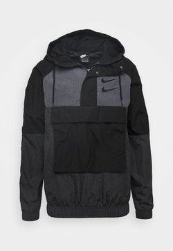Nike Sportswear - Windbreaker - black/anthracite/dark grey