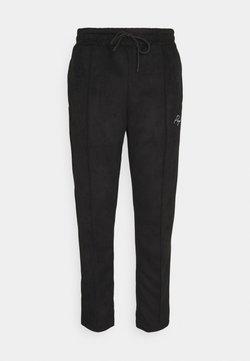 Pegador - WIDE PANTS - Trousers - black