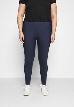 Tommy Jeans Curve - TAPE - Leggings - Trousers - twilight navy