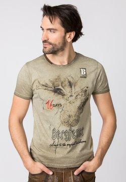 Stockerpoint - URSCHREI - T-Shirt print - sand