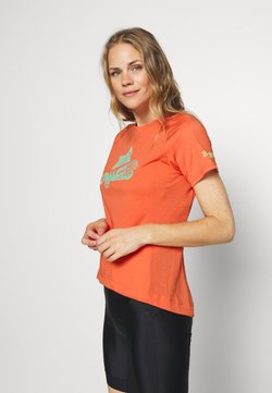 Zimtstern - PUREFLOWZ - T-Shirt print - living coral/florida keys