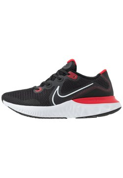 Nike Performance - RENEW RUN - Zapatillas de running neutras - black/white/university red