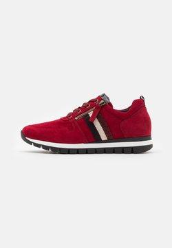 Gabor Comfort - Sneaker low - dark opera/schwarz