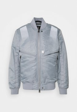 G-Star - TRANSITIONAL - Giubbotto Bomber - lune/grey